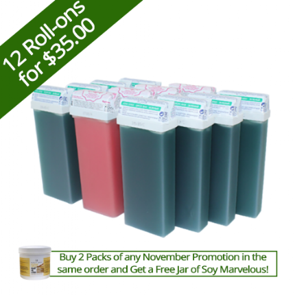 8 Green Pine + 4 Lollypop Roll-ons for $35.00