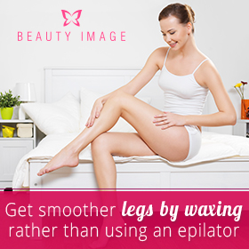 Woman with Smooth Legs by Hair Removal Products
