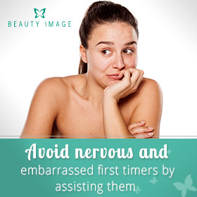 Nervous Clients Hair Removal Products