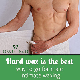 Waxing Products for Men Intimate Zone