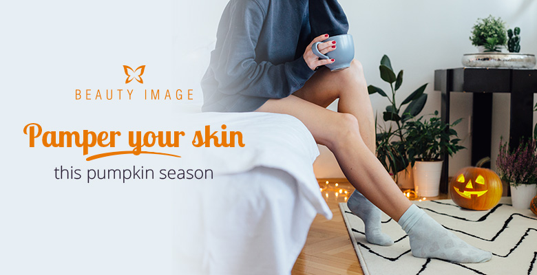 Pre-waxing Care for Legs with Pumpkin