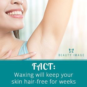A Free Hair Armpit Due to Hair Removal Products