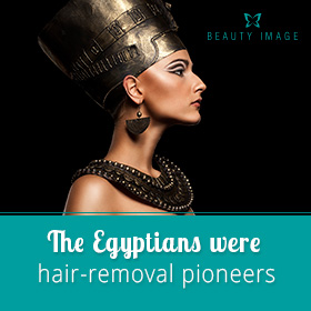 Egyptian Woman Used Hair Removal Products