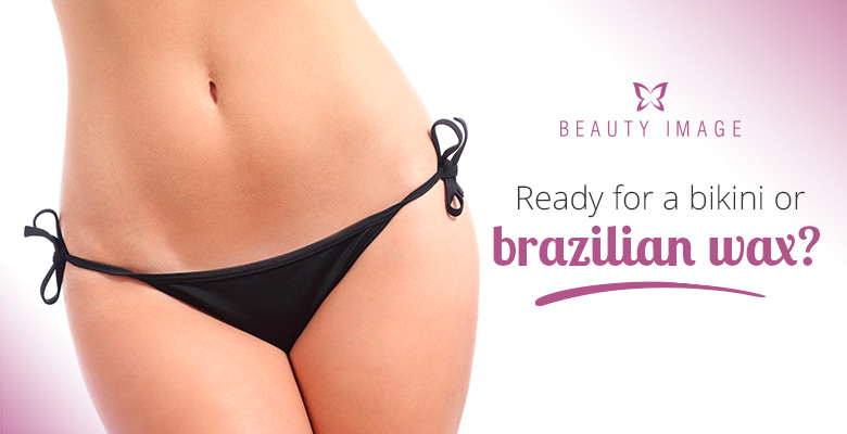 Brazilian bikini wax treatment photos