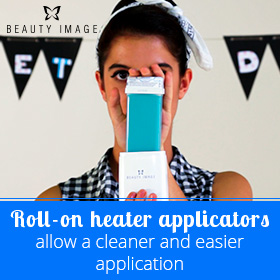 Roll-on Wax Heater Applicator