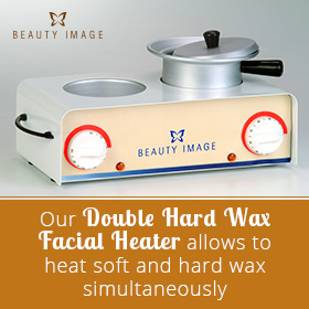 Beauty Image's Double Hard Wax Facial Wax Heater