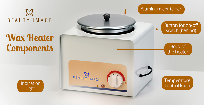 Beauty Image's Wax Heater Components