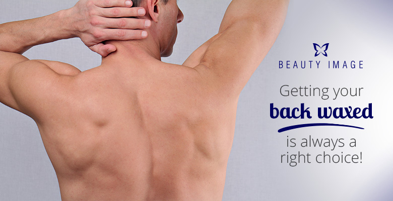 Back Waxing for Men