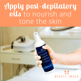 Avoid Allergic Reaction to Waxing With Post-Depilatory Calming Oil