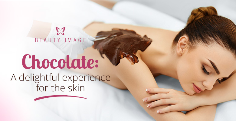 Woman Getting a Choco Wax Beauty Treatment