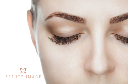 Woman Knows How to Keep Eyebrow Shape After Waxing Close Up