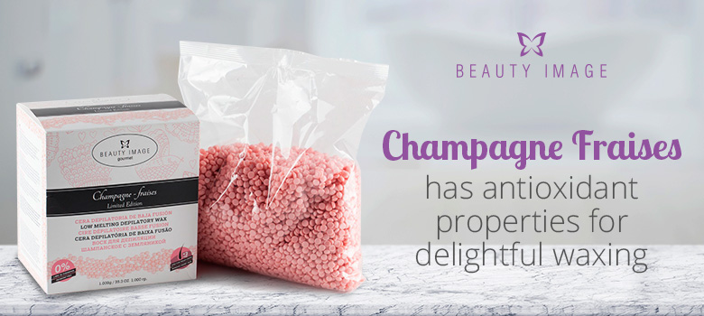 Hair Removal Products Hard Body Wax Champagne Fraises Beads