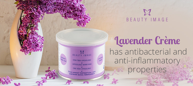 Hair Removal Products Lavender Crème Soft Body Wax