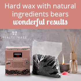 Hair Removal Products Hard Wax Dark Chocolate Presentation