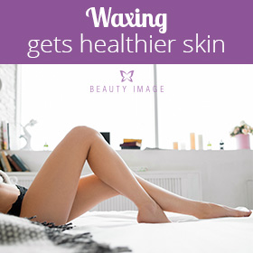 Shaving Between Waxing Woman With Beautiful Legs