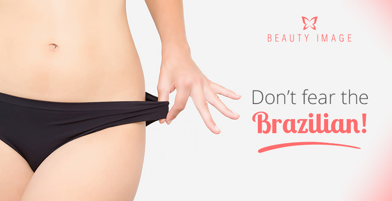 Woman Brazilian Waxing