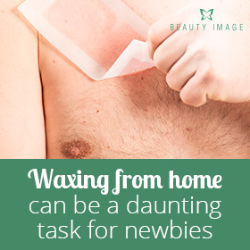 Male Full Body Waxing on Chest