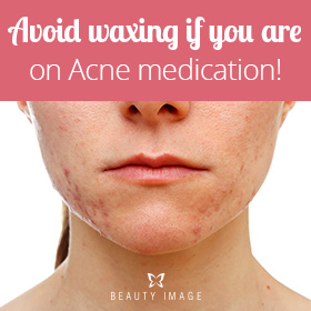 Contraindications of Waxing for Acne