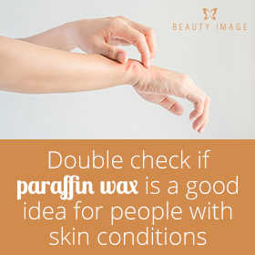 Paraffin Wax in a Hand