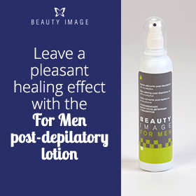 Post-depilatory Lotion for Manzilian Wax