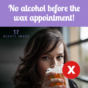 Avoid Alcohol to Reduce the Pain of Waxing