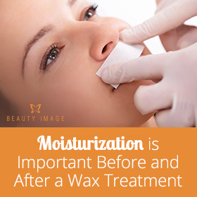 Moisturization is Important after a Wax Treament