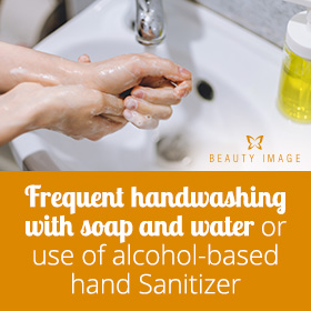 Frequent Handwashing For Coronovirus Prevention
