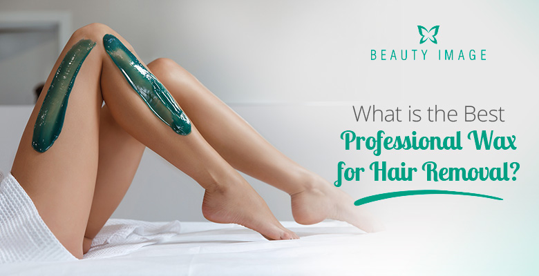Woman Legs with Professional Soft Wax
