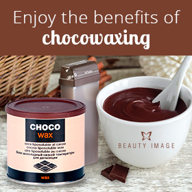 Chocotherapy Choco Wax With Melted Chocolate in Bowl