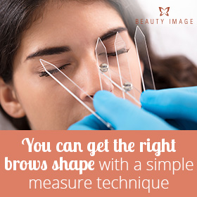 Measure for Flawless Eyebrows