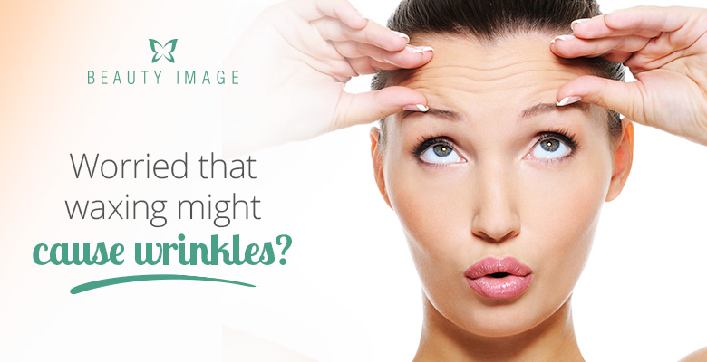 Waxing Might Cause Wrinkles
