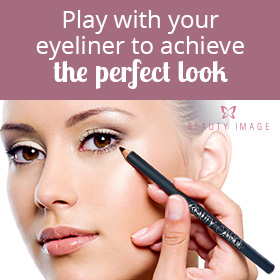 Makeup Tips Woman Applying Eyeliner