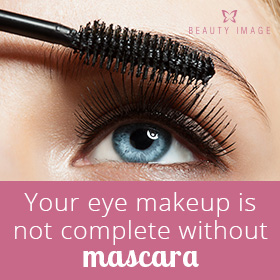 Makeup Tips Woman with Mascara Wand