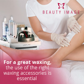 A Girl Getting Waxed With Waxing Accessories