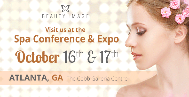 A Girl Invites you to the Spa Conference and Expo Where you'll Find our Glamour Argan Oil Products