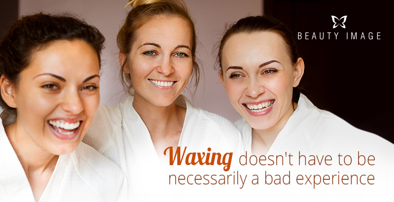 Three Young Happy Women After a Hair Removal Treatment